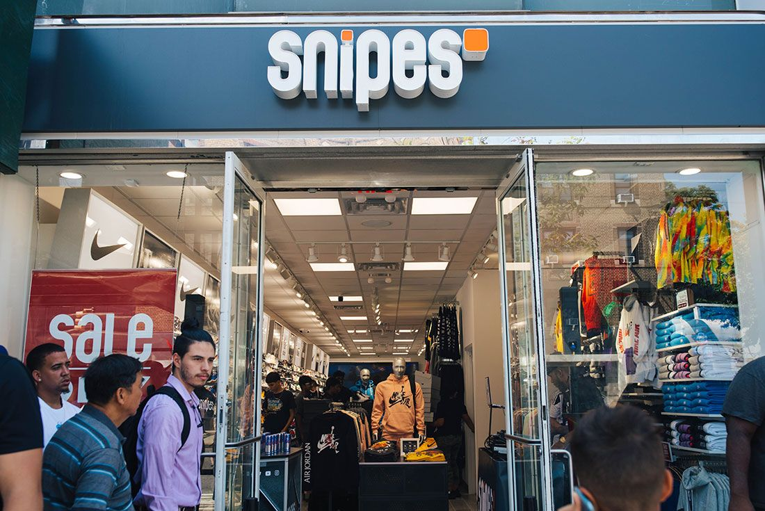 Snipes Store Opening Brooklyn Store Shot6