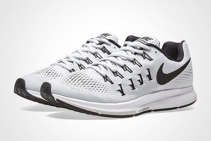Nike Air Zoom Pegasus 33 White Black Thumb 1