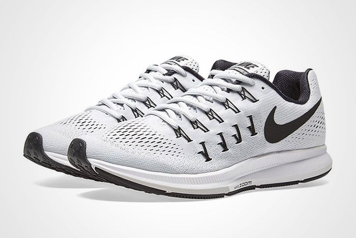 Nike Air Zoom Pegasus 33 White Black Thumb 1