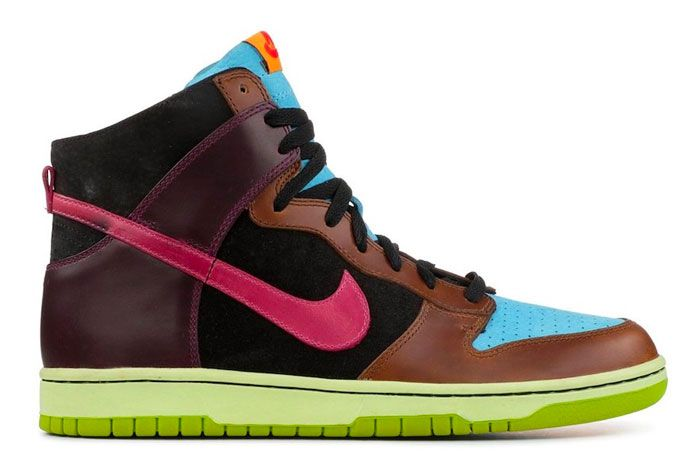 Nike Dunk High Undefeated Dunk Left