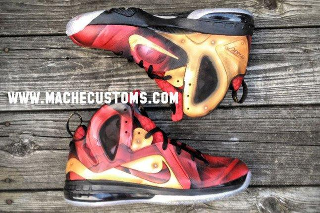 Nike Lebron 9 Elite Tony Starks Mache Custom Kicks 1
