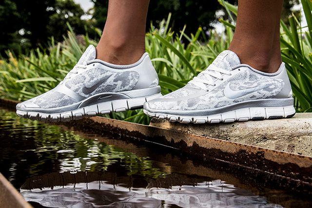 Nike Free 5 0 White Silver 3