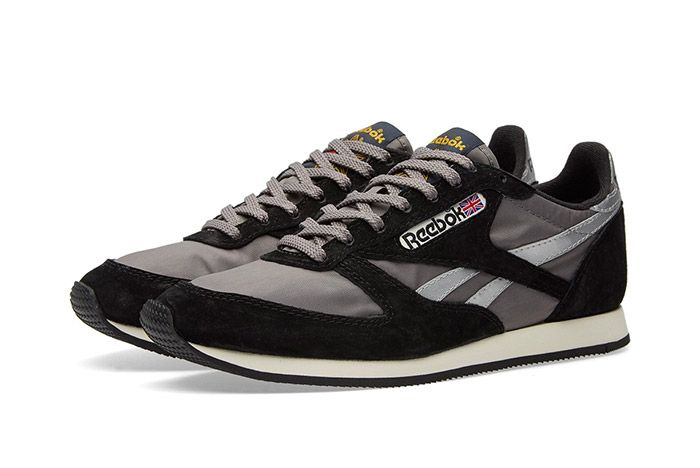Reebok London Tc Vintage Black Grey 4