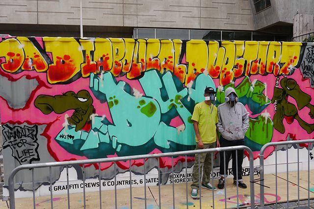 Boxpark Live Graffiti Zombie Dyet Dds 7
