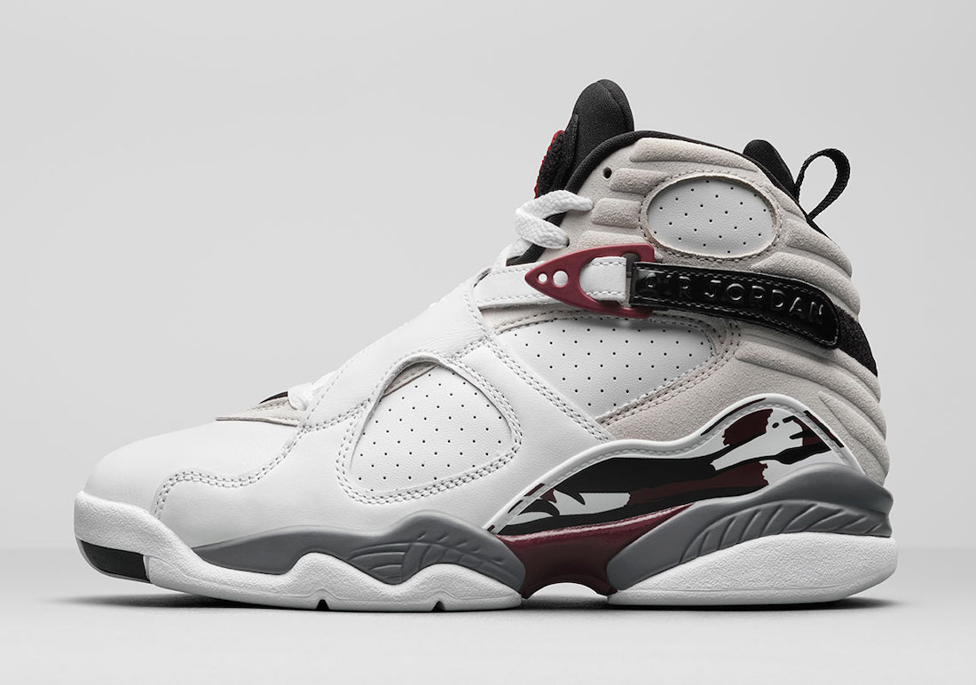 Air Jordan 8 Burgundy Womens CI1236-104