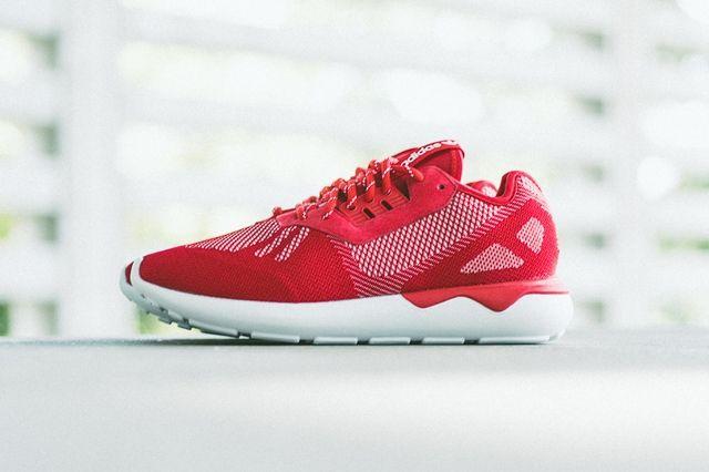 Adidas Tubular Runner Weave Scarlet 5