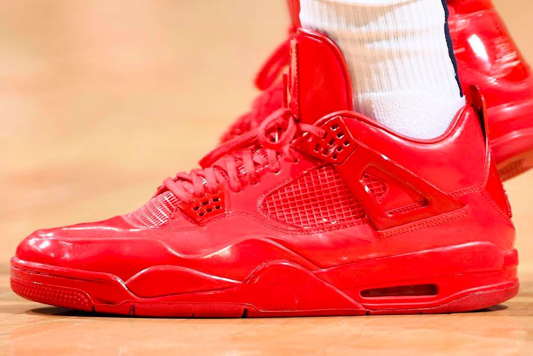 Air Jordan 4 Red Left