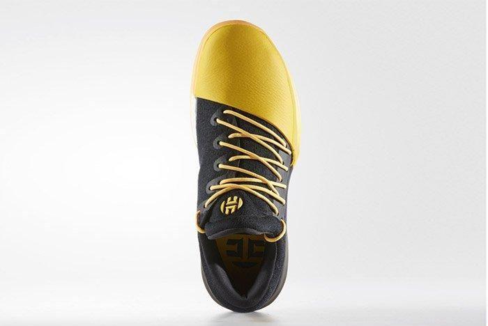 Adidas Harden Vol 1 Black Yellow 2