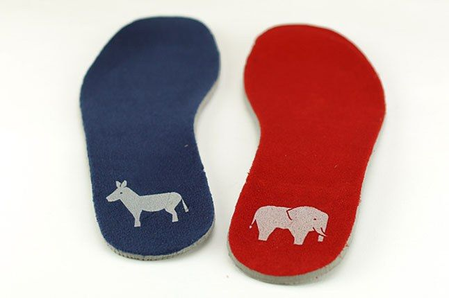 Nike Democrat Republican Insole 1