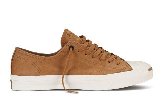 Converse Jack Purcell Washed Suede Sideview6
