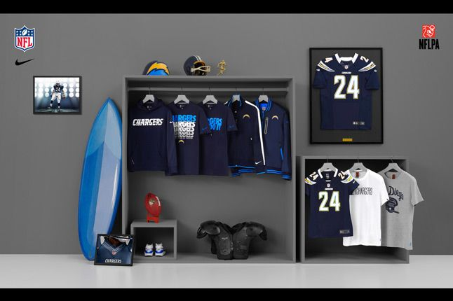 Nike Nfl Fanwear Sd Chargers 2012 1