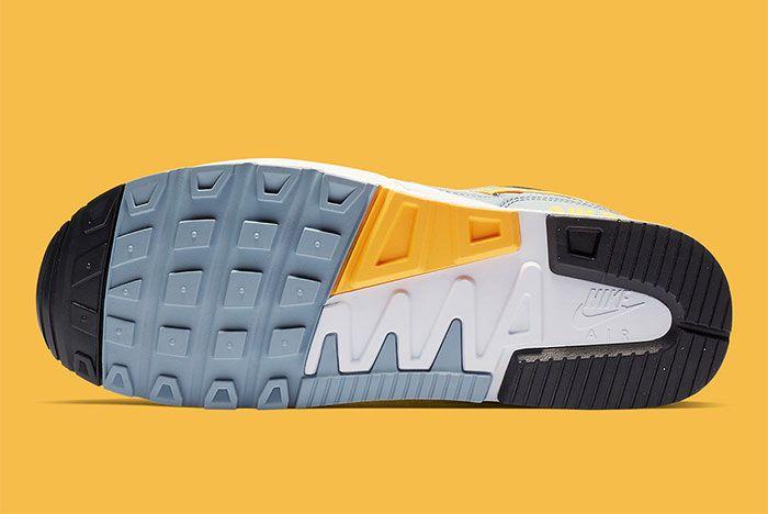 Nike Air Span Ii Grey Yellow Sole