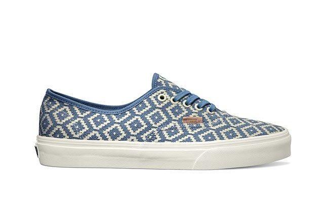 Vans California Collection Authentic Ca Italian Weave Captains Blue 2014