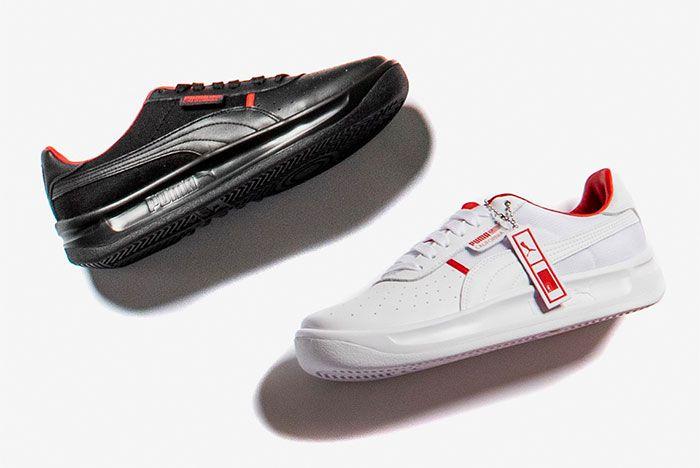 Nipsey Hussle Puma Shoes Black White
