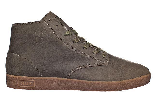 Huf Fall 2012 Footwear Cooper Military Gum 1