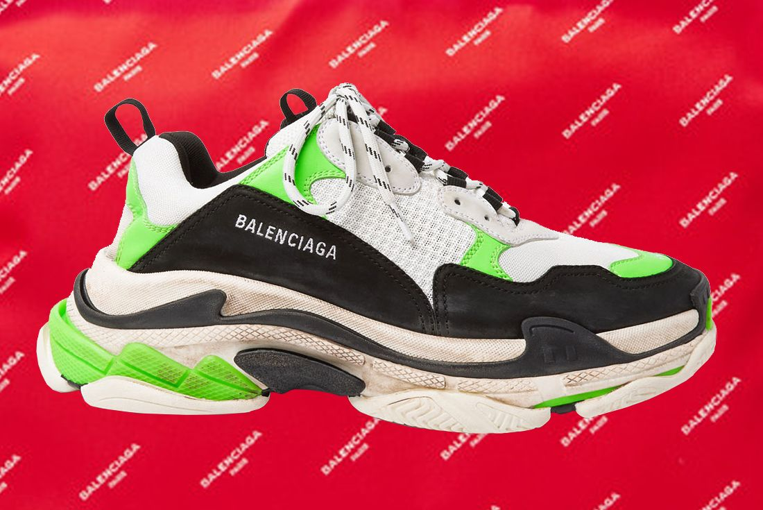 Mr Porter X Balenciaga Triple S 1