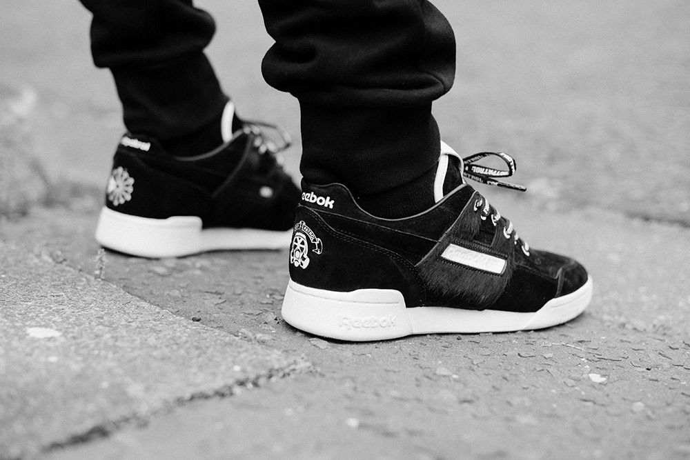 Reebok Footpatrol Workout Lo Blackbuck 2