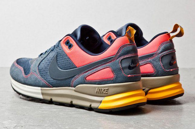 Nike Lunar Peg 89 Navy Pink Orange 3 1
