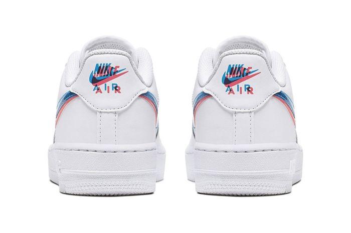 Nike Air Force 1 Low 3D Gs Release Date Heel