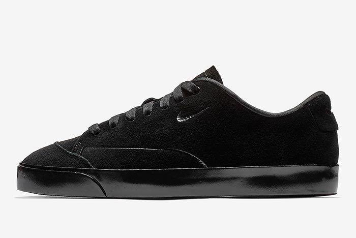 Nike Blazer City Low Xs Triple Black 2
