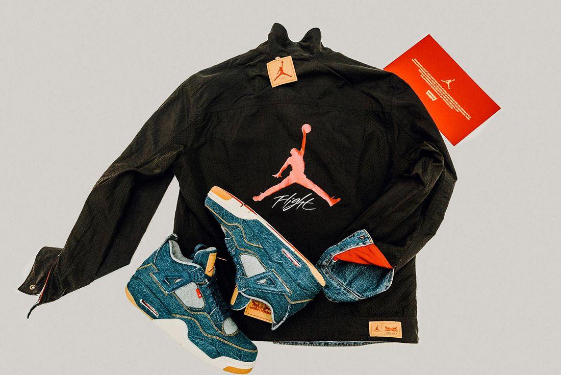 Levis Air Jordan 4 Denim 3
