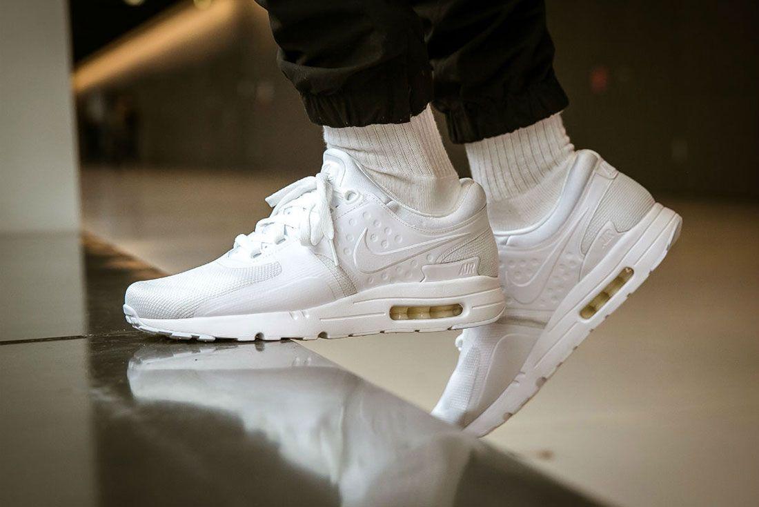 Nike Air Max Zero Triple White 1