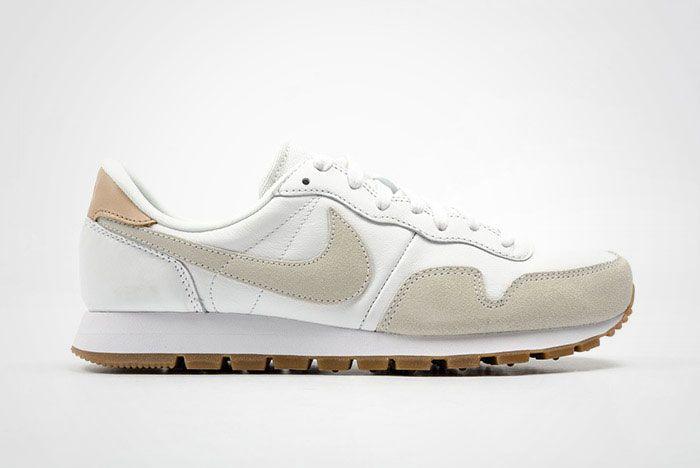 Nike Air Pegasus 83 Premium White Grey Leather Thumb