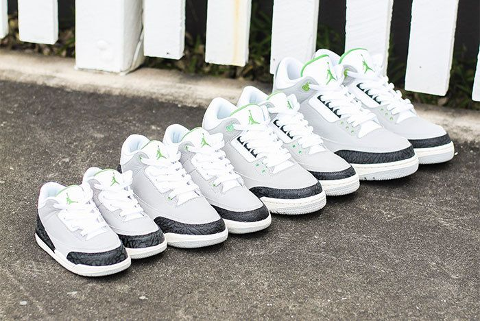 Air Jordan 3 Chlrophyll Jd Sports Sneaker Freaker1