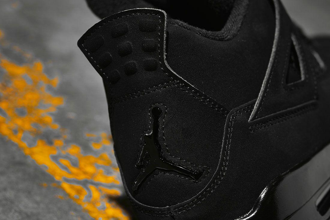 Air Jordan 4 Black Cat 2020 Retro Jd Sports Heel Detail