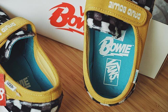 David Bowie X Vans Old Skool Slip 47 Insole Shot