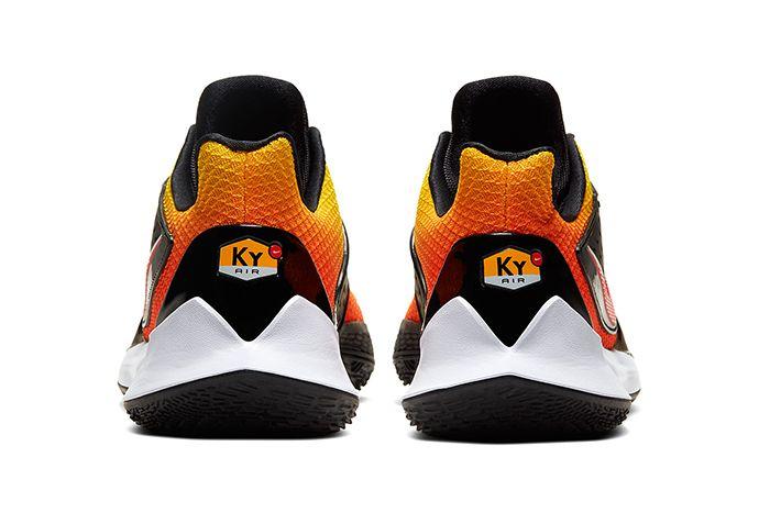 Nike Kyrie Low 2 Tn Sunset Av6338 800 Release Date Heel