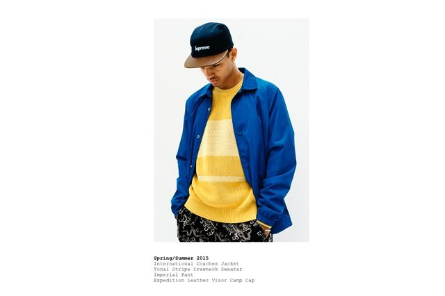 Supreme Spring Summer 2015 Lookbook 7