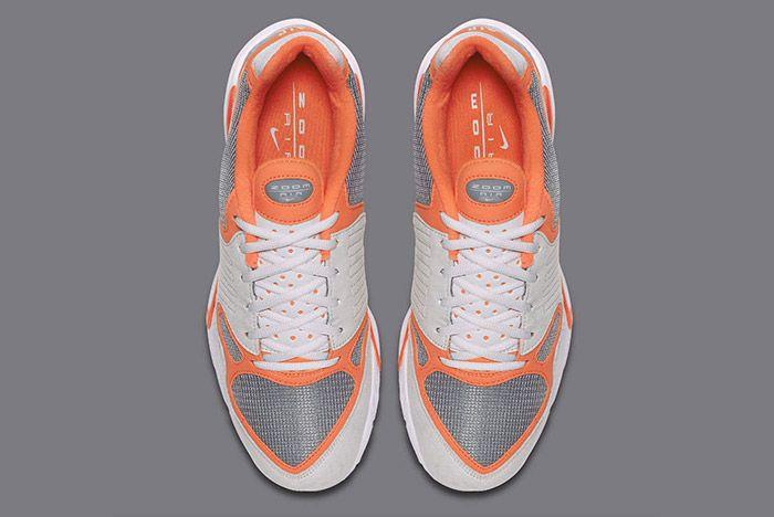 Nike Air Zoom Talaria Orange Grey 3