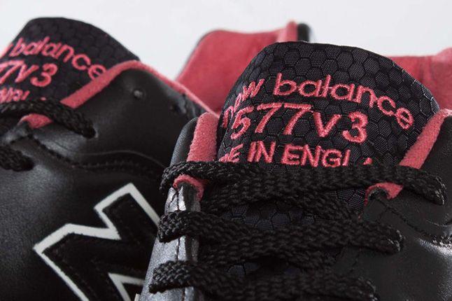 Staple X Size X New Balance 577 Black Pigeon Tongue Details 1