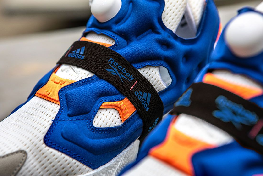 Reebok Adidas Instapump Fury Boost Prototype Sneaker Freaker Up Close