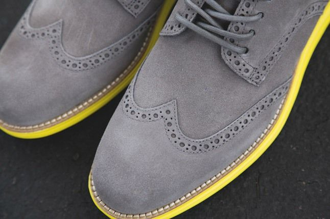 Cole Haan Lunargrand Wingtip Ss13 Grey Toe Detail