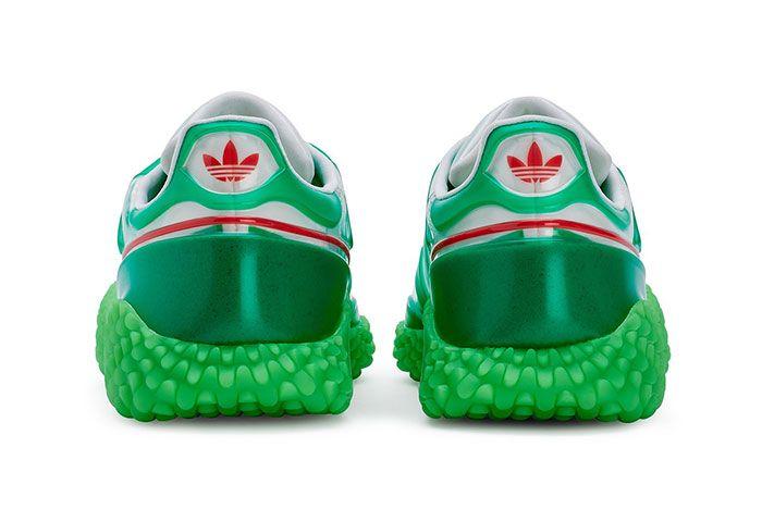 Craig Green Adidas Kamanda Dover Street Market Green Heel Shot