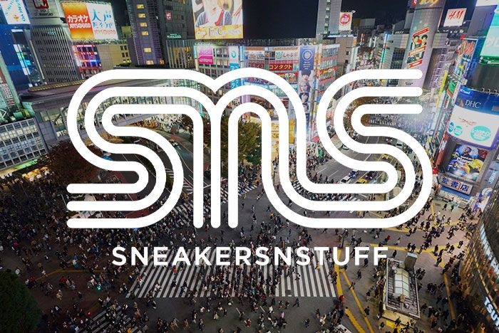 Shibuya Crossing Sneakersnstuff Logo