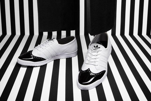 Adidas Top Ten Low Sleek Brogue White 1