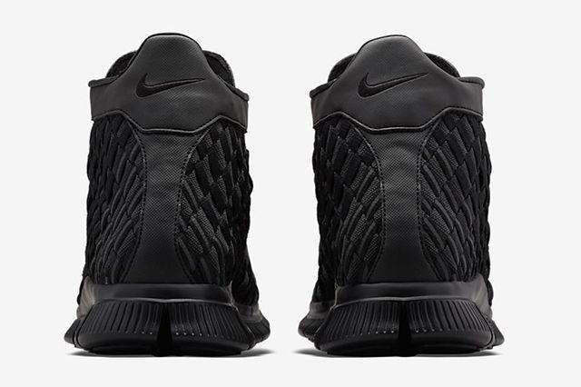Nike Free Inneva Woven Mid Black 4