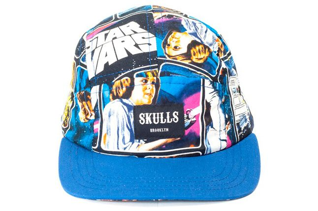 Skulls Star Wars Cap Jedi Blue 1