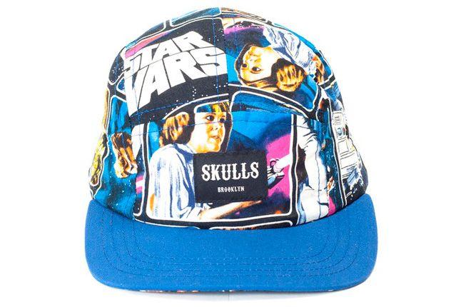 Skulls Star Wars Cap Jedi Blue 1