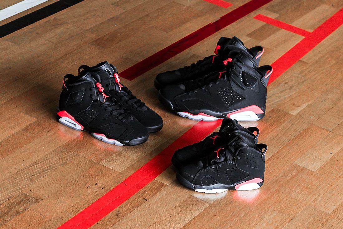 Air Jordan 6 Infrared Release 3