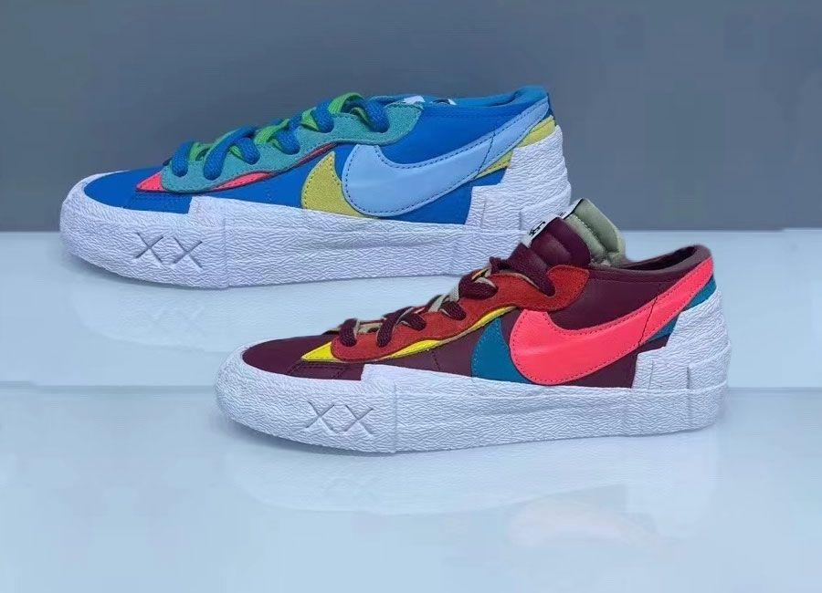 KAWS x Sacai x Nike Blazer Lows