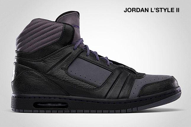 Jordan L Style Ii Ink Black 1