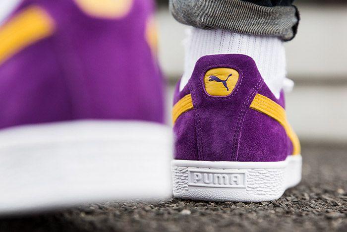 Puma Mij Collectors Suede Purple 2
