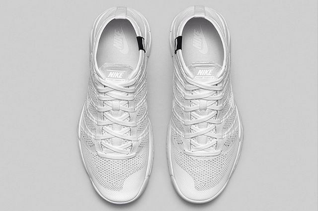 Nike Flkynit Chukka Trainer White White 3