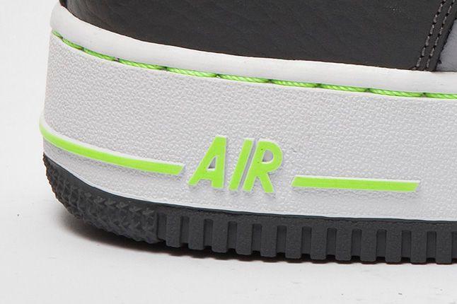 Nike Air Force 1 Grey Volt Air Logo 1