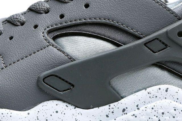 Nike Air Huarache Cool Grey Atomic Mango 4