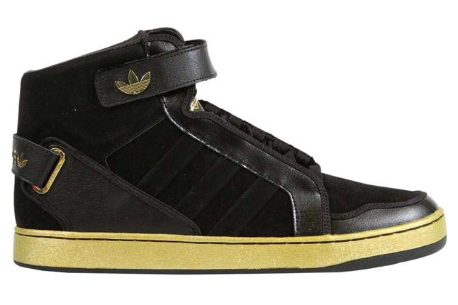 Originals Courtside Collection Black Gold Profile 1